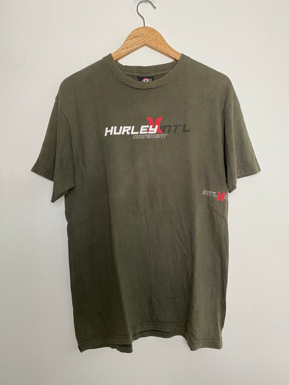 Vintage Hurley streetwear t shirt/ vintage streetw