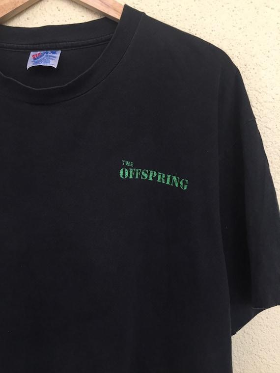 RARE Vintage The Offspring band t shirt/ vintage … - image 6