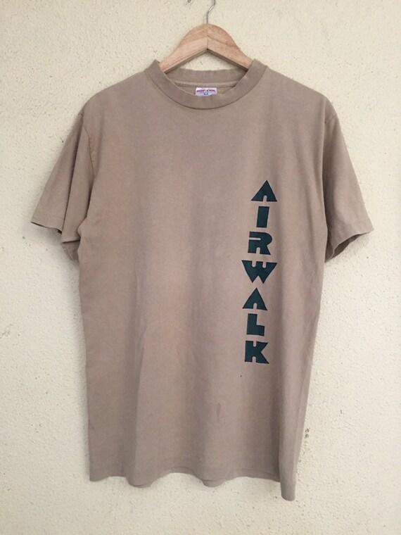 Vintage Airwalk skateboarding T shirt/ vintage ska