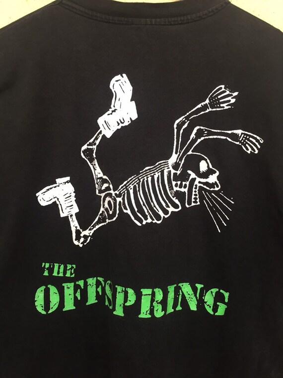 RARE Vintage The Offspring band t shirt/ vintage … - image 5