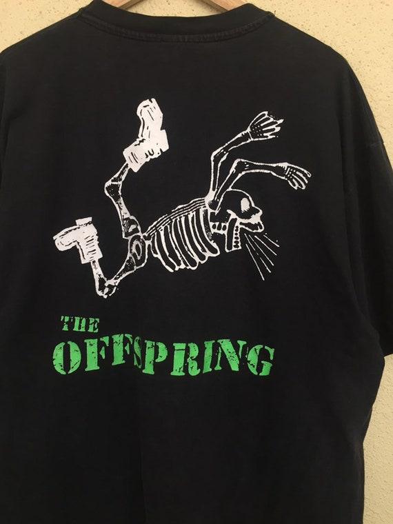 RARE Vintage The Offspring band t shirt/ vintage … - image 7