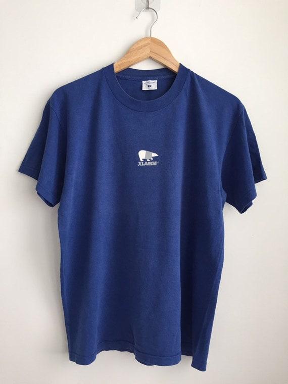 Vintage 90s Xlarge brand streetwear t shirt/ vinta