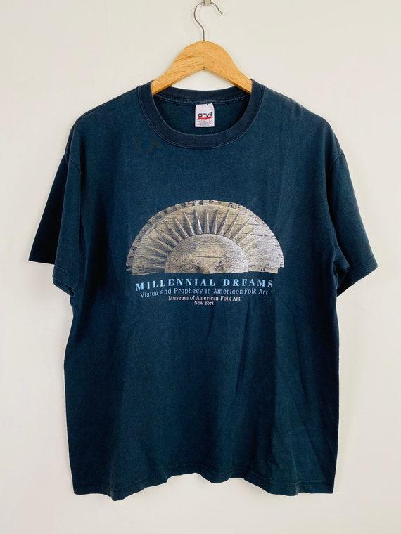 Vintage 90s Museum of American Folk Art t shirt /