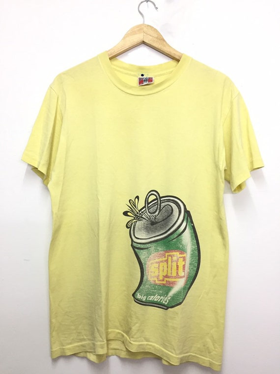 Vintage Split skateboard T shirt/ vintage skateboa