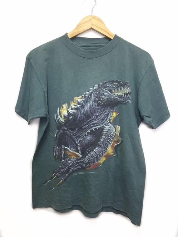 RARE Vintage 90s Godzilla Movie t shirt/ vintage m