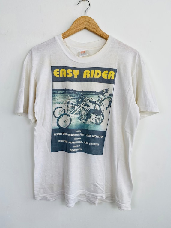Vintage Easy Rider movie promo t shirt/ vintage mo