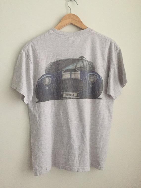 Vintage Cobra racing car t shirt