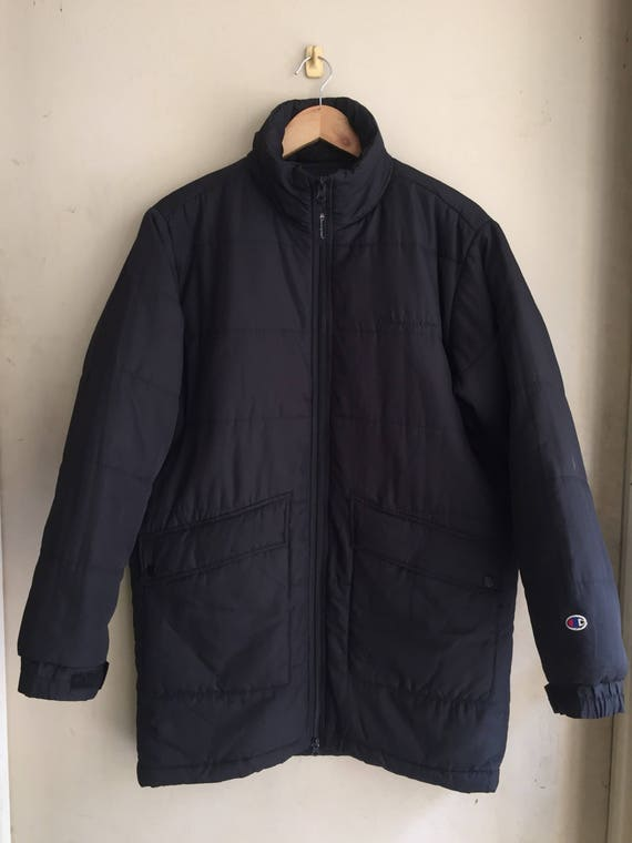 RARE Vintage Champion Puffer Jacket/ trench coat