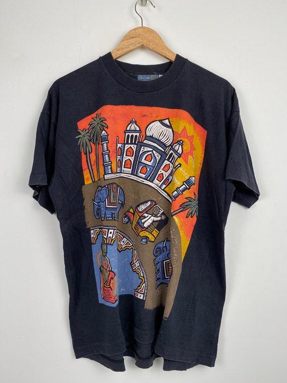 Vintage Paul Bristow London artwork t shirt/ vinta