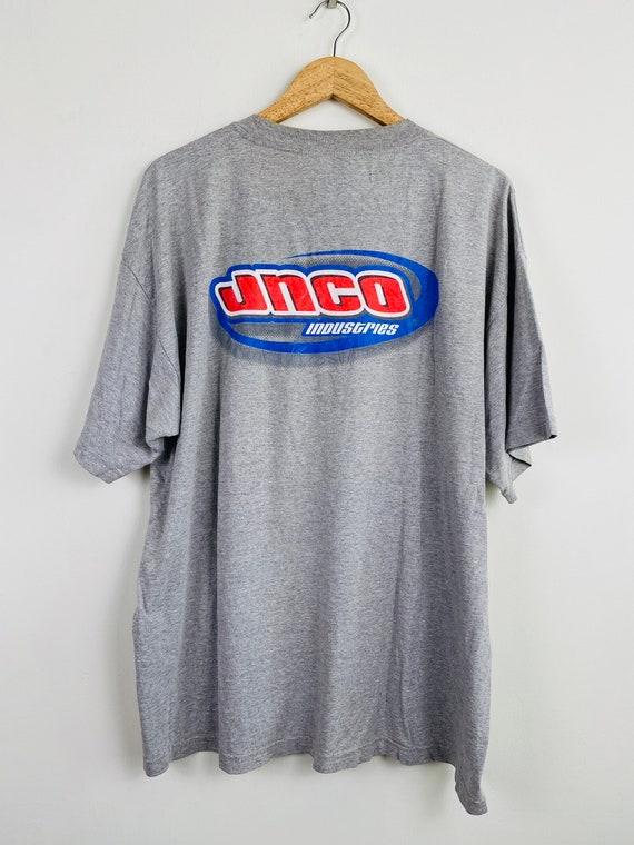 Vintage 90s JNCO streetwear t shirt/ vintage stree