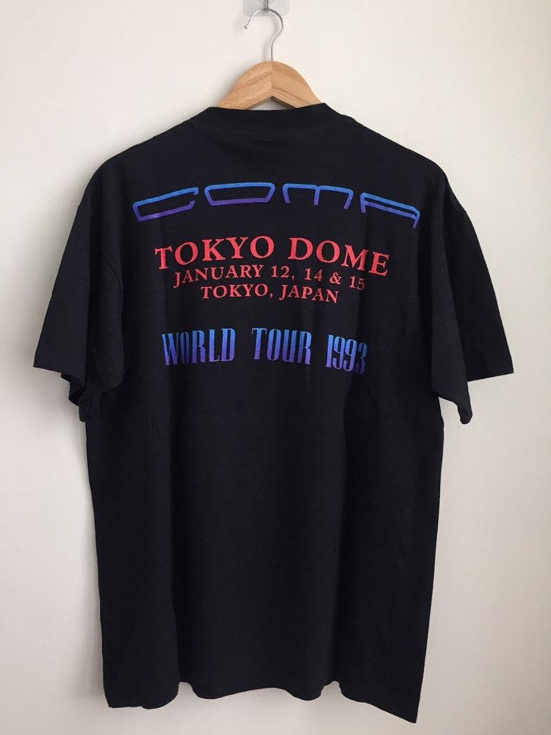 Vintage Guns N/' Roses band promo t shirt Coma Tokyo Dome tour American hard rock band vintage band tee
