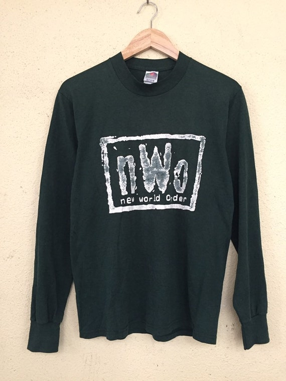Vintage New World Order NWO longsleeve T shirt
