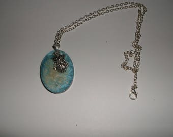 13 awesome resin oval necklace