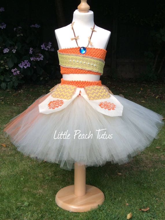 Moana Inspired Tutu Dress