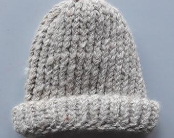 Beanie made from Alpaca yarn - Small