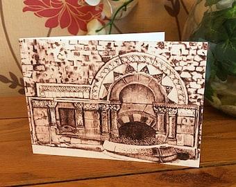 Greetings Card - Ladymead Fountain, Bath