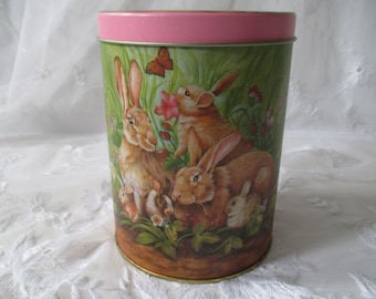 Osterdose, can, Easter, hare, animals, storage, Hasendose, can with Hare,