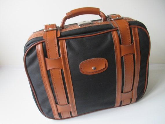 Vintage Small Suitcase, Retro Suitcase 70s, Suitca