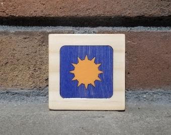 Sun Box, Little Wooden Box, Keepsake Box, Trinket Box, Jewelry Box, Earring Box, Ring Box, Birthday Gift, Thank you Gift