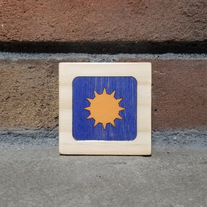 Sun Box Little Wooden Box Keepsake Box Trinket Box Jewelry image 0