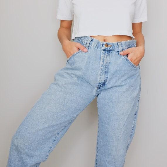 Vintage Rustlers mom jeans, 80's mom jeans, retro