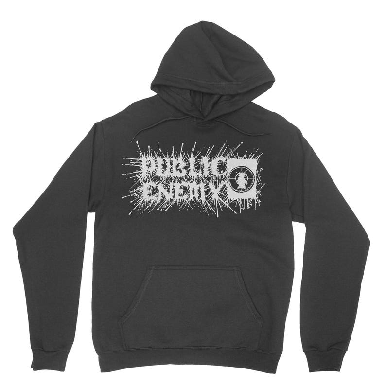 e5d06c538 Public Enemy Black Metal Hoodie | Etsy