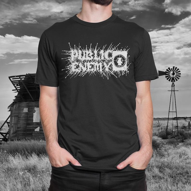 d8a0d5ed Public Enemy Black Metal T-Shirt | Etsy