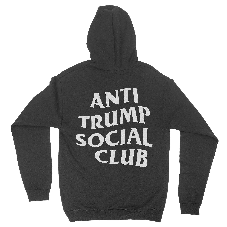 eefcd9240 Anti Trump Social Club Hoodie | Etsy