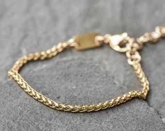 e26e0d419eb8e Mens gold bracelet | Etsy