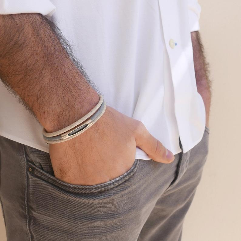 Men/'s Bracelet Gift For Dad Boyfriend Gift Men/'s Gift Men/'s Vegan Bracelet Husband Gift Men/'s Jewelry Men/'s Cuff Bracelet