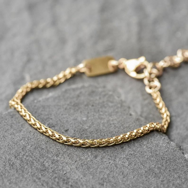 9383cbb9faab1 Men's Chain Bracelet - Men's Gold Bracelet - Men's Cuff Bracelet - Men's  Bracelet - Men's Jewelry - Men's Gift - Husband Gift - Boyfriend