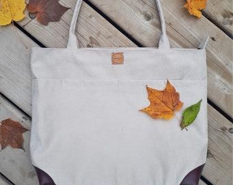 Tote bag, 100% upcycled