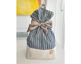 Reusable Gift Bag, 100% upcycled