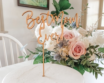 Happy Mothers Day Cake Topper, Best Mom Ever, Mothers Day Cake Topper, Mothers Day Pie Topper, Mothers Day