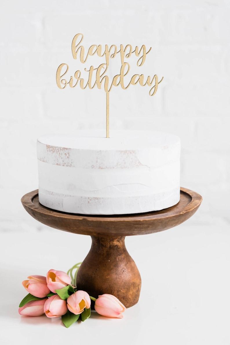Happy Birthday Cake Topper Geburtstag Party