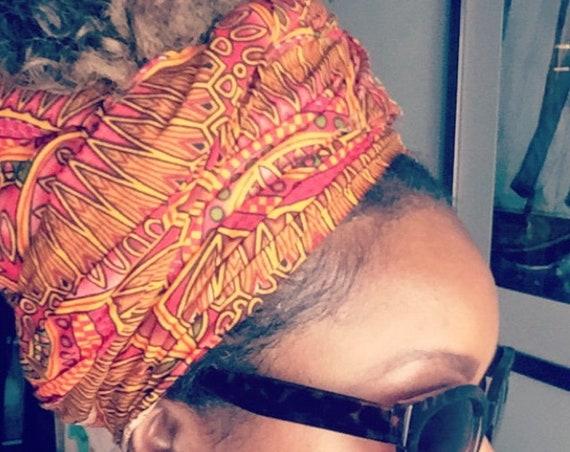 "The ""India"" hair wrap"