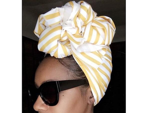 """The """"Butterscotch"""" hair wrap"""
