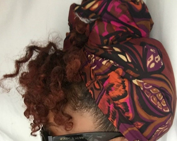 "Head Wrap ""Chestnut"""