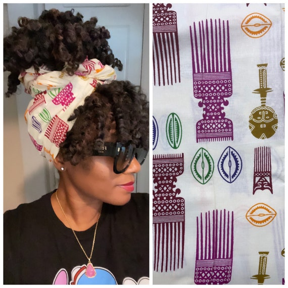 """The """"Majestic Comb"""" wrap"""