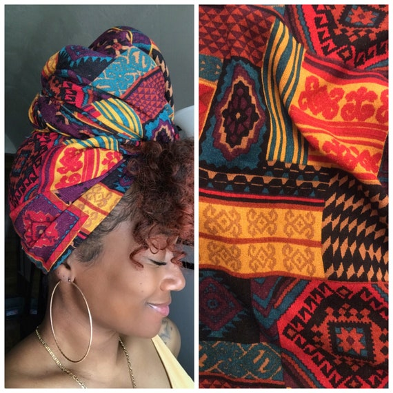 "Head wrap ""Retro"""