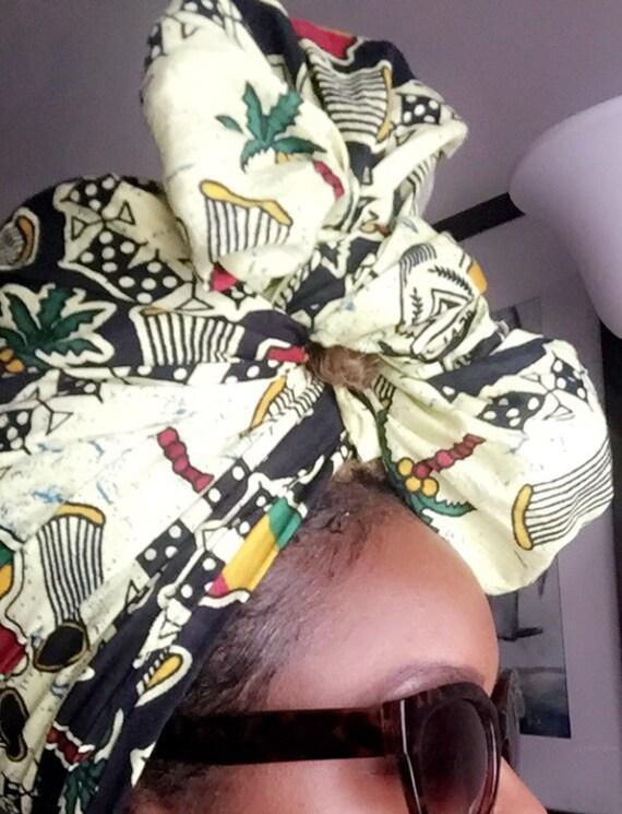 "The ""Vibes"" hair wrap"