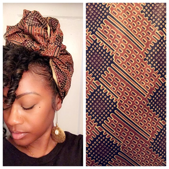 "Head wrap ""Brownie"""