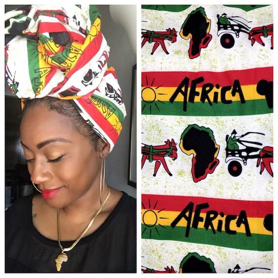"Head wrap ""Africa"""