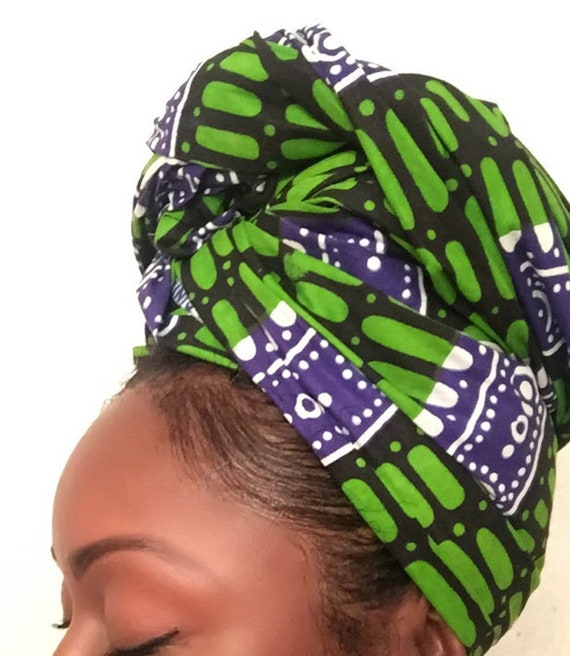 "Head Wrap The ""Aloe"" hair wrap"