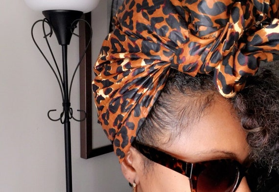 """The """"Animal"""" hair wrap"""