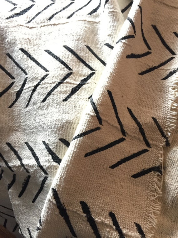 "The ""Mud Cloth"" throw"