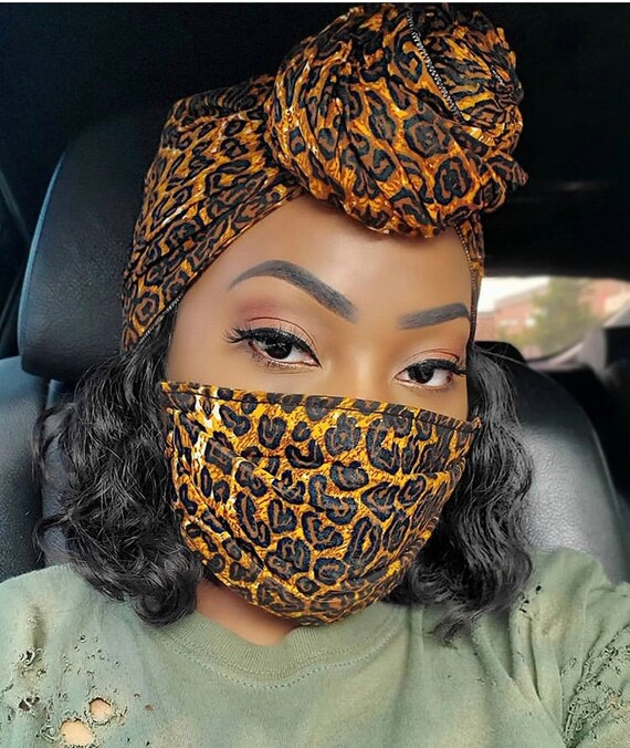"Wrap & filtered Mask set ""Animal"""