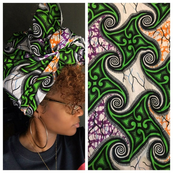 "Head wraps ""Sour patch"""