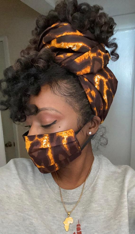 Wrap & filtered Mask set (Animal 2)