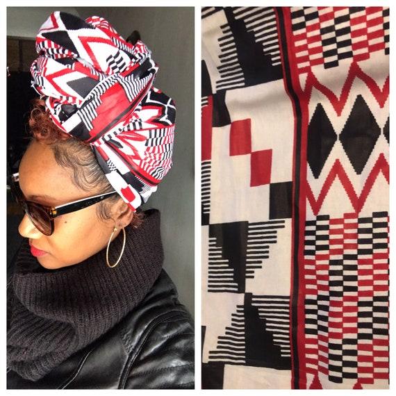 "The ""Trini"" hair wrap"